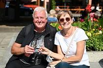 Slavnosti vína a burčáku na Lidickém náměstí v Ústí nad Labem