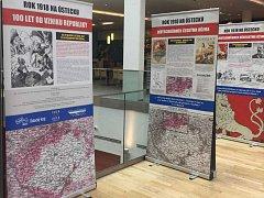 Výstava v OC Forum mapuje klíčový rok 1918 na Ústecku.