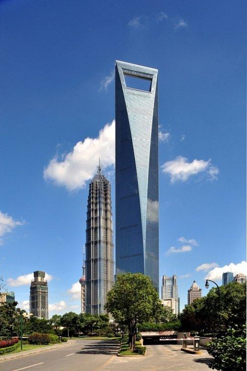 Park Hyatt Shanghai, Šanghaj, Čína – 494 m.