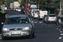 Dopravu ve Vaňově komplikuje frézování vozovky. Místní se nemohou dočkat zprovoznění dálnice.