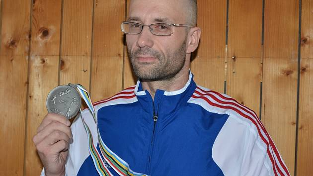 Moderní pětibojař Alexandr Ivančo.