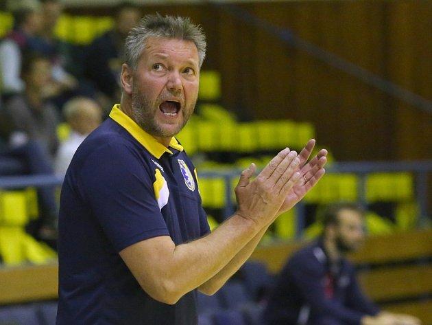 Petr Brom, kouč volejbalistů Ústí.