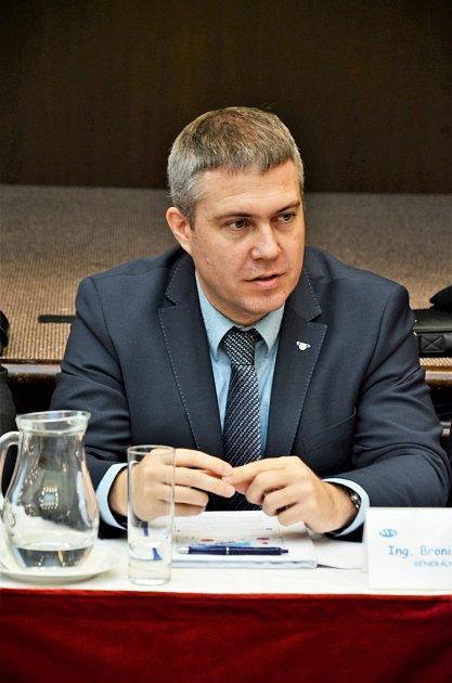 generální ředitel Severočeské vodárenské společnosti (SVS) Bronislav Špičák