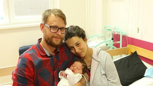 Miluše Ulahelová se narodila Michaele Říhové a Martinu Ulahelovi z Hrobu 4. srpna v 1.11 hodin v Ústí nad Labem. Měřila 51 cm, vážila 3,9 kg