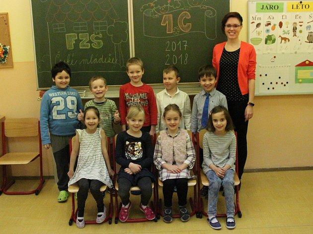 1.C, Fakultní ZŠ České mládeže, třídní učitelka Tereza Štolbová.
