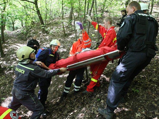 Cvičení má prověřit součinnosti členů Červeného kříže (ČČK) při pátraní po pohřešované osobě se zraněním.