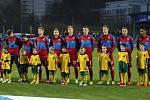Přípravné fotbalové utkání v Ústí nad Labem - ČR - Litva 3:0.