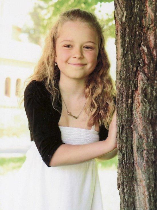 7. SANDRA TRINEROVÁ, 9 let, Strojetice u Podbořan.