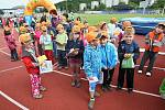 Den dětí v Ústí nad Labem, akce Atletika pro děti, soutěže a návštěva atleta Tomáše Dvořáka, 2011