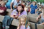 Letní kino ožilo hudbou a pivem