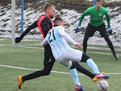 Sport fotbal příprava zima FK Ústí nad Labem - FC Neugersdorf