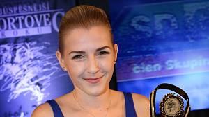 Fabiana Bytyqi, držitelka světového pásu a vítězka ankety Nejlepší sportovec Ústeckého kraje 2018.