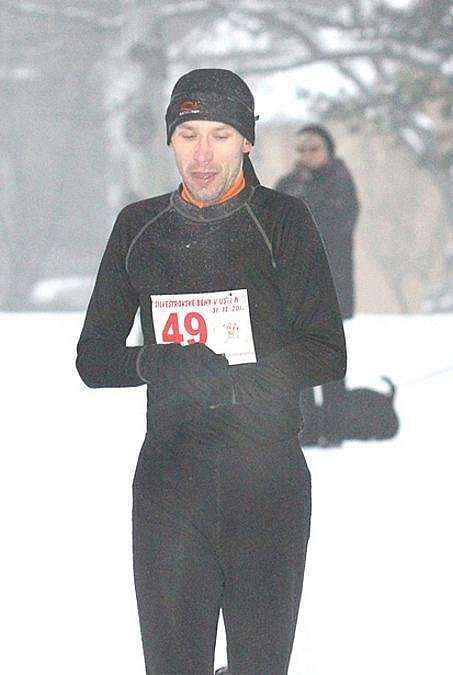 Silvestrovský běh v Městských sadech