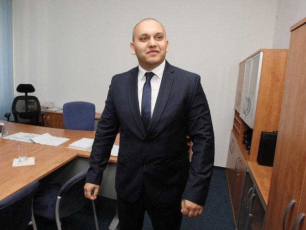 Zastupitel Martin Mata.