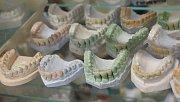 Soutěž budoucích zubních techniků.