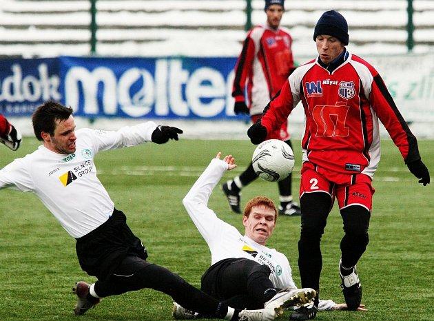 Fotbalisté Ústí dominovali i v posledním utkání skupiny Tipsport ligy. Most smetli 4:1, když gólově se prosadil i Martykán (vpravo).