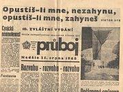 Noviny ze srpna 1968