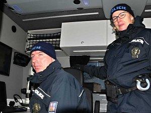 Nový schengenbus cizinecké policie v Ústeckém kraji