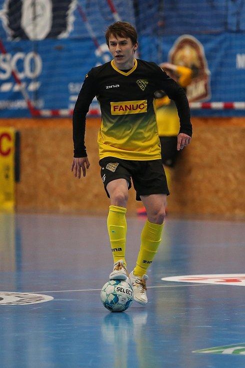 Rapid Ústí n. L. - Helas Brno, 1. FUTSAL liga 2020/2021. Matěj Čapek