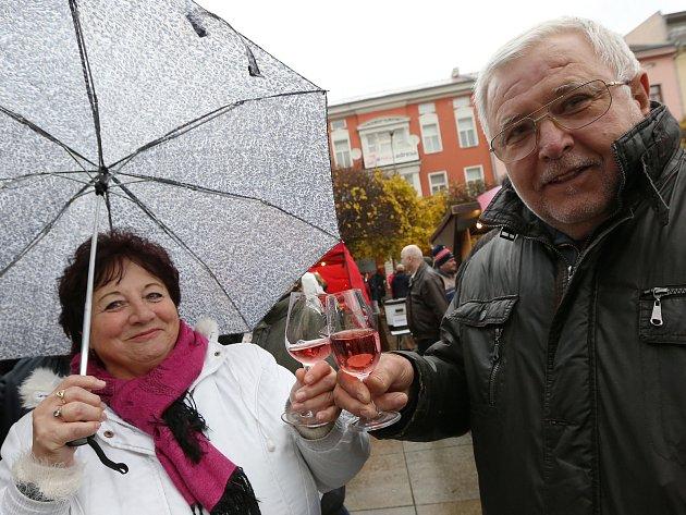 V Ústí nad Labem proběhla v pondělí oslava a ochutnávka Svatomartinského vína.