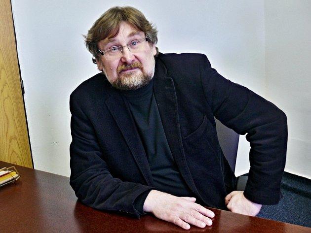 Vladimír Charvát, nový městský architekt.