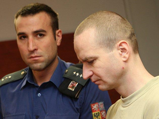 Michal Krnáč u soudu.