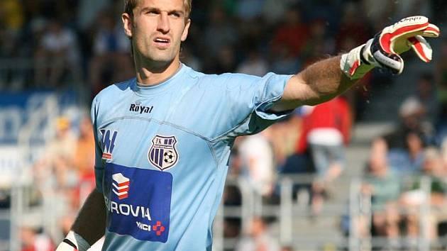 Brankář Radim Novák patří k největším tahounům FK Ústí.