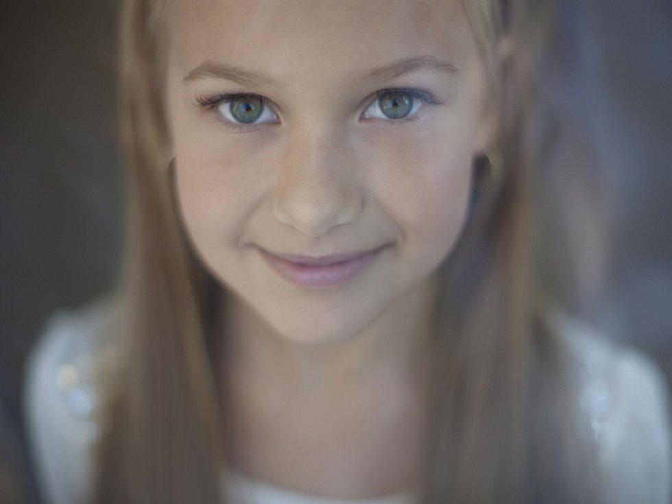 51. VALERIE HLINOVSKÁ, 10 let, Chomutov.