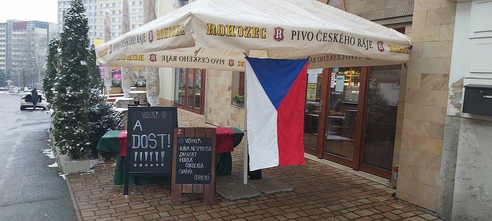 Restaurace Veranda, Klíše, Ústí nad Labem