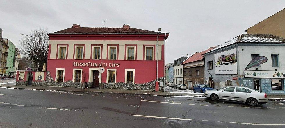 Obvod Střekov v Ústí nad Labem. Místní hospoda