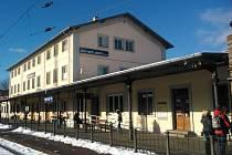 Rozsáhlejší rekonstrukcí prošla stanice Ústí nad Labem západ.