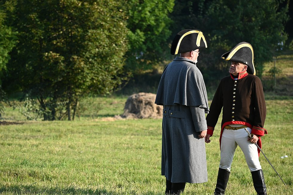 Ukázka bitvy u Chlumce, Přestanova a Varvažova