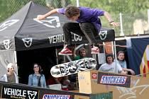 Soutěž v ústeckém skateparku