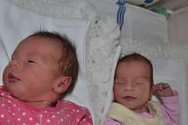 V ústecké porodnici se narodila první dvojčata letošního roku.
