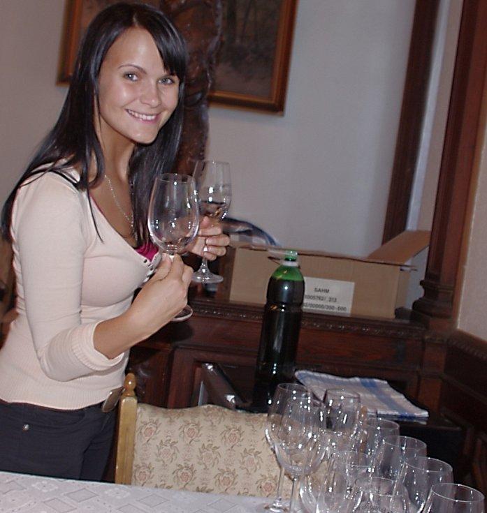 Víno na náměstí teklo proudem.