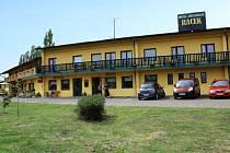 Hotel Racek v Úštěku.