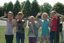 Školáci z Chlumce.