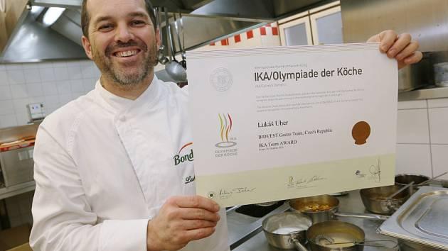 Lukáš Uher z ústecké Větruše se s týmem Bidvest zúčastnil Světové kuchařské olympiády IKA 2016.