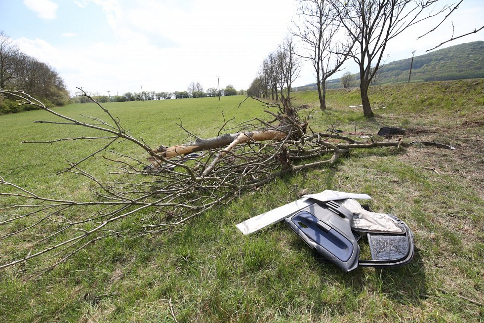 Nehoda u Libouchce.