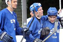 Hokejbalisté Coma Teamu ilustrační