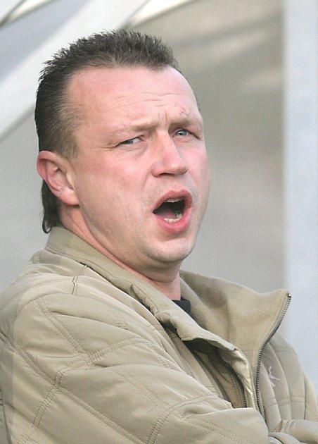 Trenér fotbalistů Marian Řízek