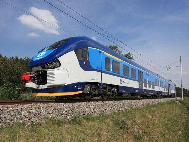 Moderní design a vzdušný interiér. To jsou silné stránky nové vlakové soupravy RegioShark.
