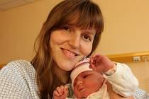 Verunka Švejdová se narodila v ústecké porodnici 7.9.2015 (9.03) mamince Martině Švejdové. Měřila 50 cm, vážila 4,13 kg.