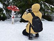 Za skvělou lyžovačkou vyražte na Klínovec.