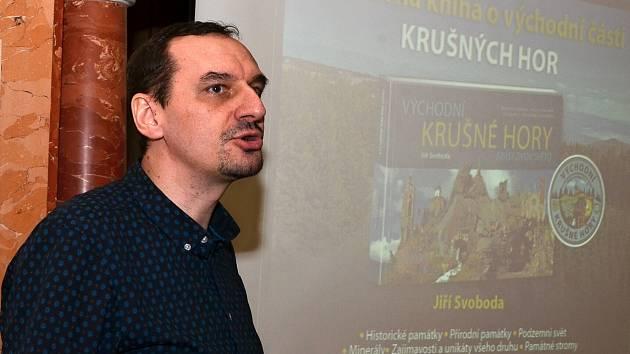 Jiří Svoboda na zámku v Trmicích