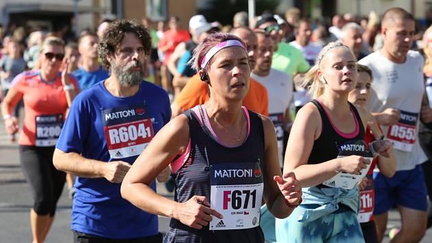 Ulicemi krajského města opět poběží účastníci Mattoni Ústí nad Labem Half Marathonu.