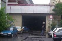 Tunel u Masarykovy ulice