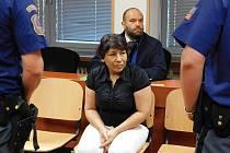 Před ústecký krajským soudem stanula Marta Žigová (1967), která je obžalována z vraždy.