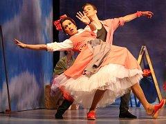 Generálka baletu Marná opatrnost v ústeckém divadle