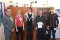 Družstvo žáků Střední průmyslové školy Ústí nad Labem, Resslova 5 uspělo v prvním ročníku celostátní soutěže Tuta Via Vitae.